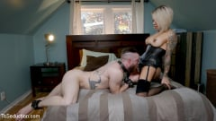 TS Foxxy - TS Foxxy Punishes Slob Boyfriend With Spanking and Nonstop Pounding! (Thumb 03)