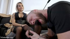 TS Foxxy - TS Foxxy Punishes Slob Boyfriend With Spanking and Nonstop Pounding! (Thumb 16)