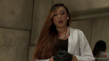 Venus Lux - Sexual Identity Experiment: Venus Lux in Hospital Threesome Feature!