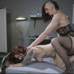 Allysa Etain in 'Kink TS' Crazy Likes To Fuck: Allysa Etain Takes Down Violet Monroe (Thumbnail 11)