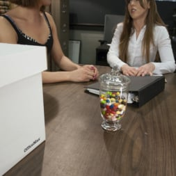 Amber Chase in 'Kink TS' Audit Her Cock: Seducing the IRS (Thumbnail 1)