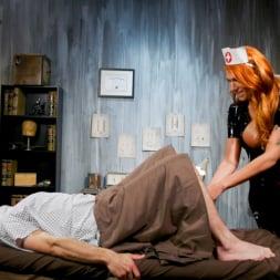 Aspen Brooks in 'Kink TS' Stress Test: Nurse Aspen Brooks Tests Naughty Patient (Thumbnail 4)