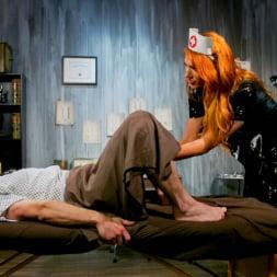 Aspen Brooks in 'Kink TS' Stress Test: Nurse Aspen Brooks Tests Naughty Patient (Thumbnail 12)
