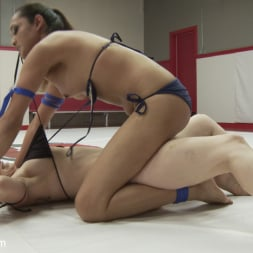 Bella Rossi in 'Kink TS' Erotic Wrestling with TS Jessica Fox and Bella Rossi (Thumbnail 4)