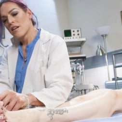 Bella Rossi in 'Kink TS' Foot torment Foot Jobs and Ts Doctor sex (Thumbnail 15)