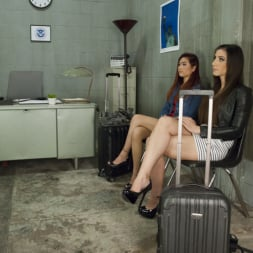 Brenda Von Tease in 'Kink TS' Airport Security Forgets 2 Hotties in Secondary They fuck to pass time (Thumbnail 1)