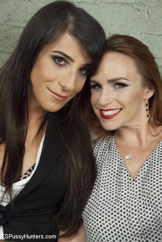 Kink TS 'DEBUT PORN FOR TS BRENDA VON TEASE - She OWNS Bella Rossi's pussy' starring Brenda Von Tease (Photo 1)