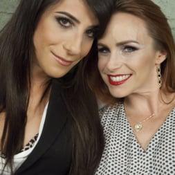 Brenda Von Tease in 'Kink TS' DEBUT PORN FOR TS BRENDA VON TEASE - She OWNS Bella Rossi's pussy (Thumbnail 1)