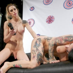 Casey Kisses in 'Kink TS' American Beauties: Casey Fucks Joanna For Some July 4th Fireworks (Thumbnail 15)