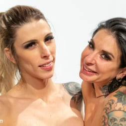 Casey Kisses in 'Kink TS' American Beauties: Casey Fucks Joanna For Some July 4th Fireworks (Thumbnail 27)