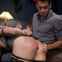 Casey Kisses in 'Kink TS' Best Christmas Ever: Gorgeous Casey Kisses Submits To Dante Colle (Thumbnail 2)
