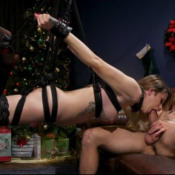 Casey Kisses in 'Kink TS' Best Christmas Ever: Gorgeous Casey Kisses Submits To Dante Colle (Thumbnail 8)