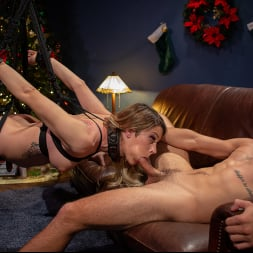 Casey Kisses in 'Kink TS' Best Christmas Ever: Gorgeous Casey Kisses Submits To Dante Colle (Thumbnail 12)