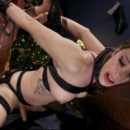 Casey Kisses in 'Kink TS' Best Christmas Ever: Gorgeous Casey Kisses Submits To Dante Colle (Thumbnail 14)