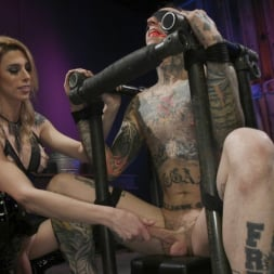 Casey Kisses in 'Kink TS' Teases and Fucks Submissive Slut Ruckus (Thumbnail 13)