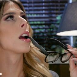 Casey Kisses in 'Kink TS' Noisy Nympho Neighbor (Thumbnail 1)