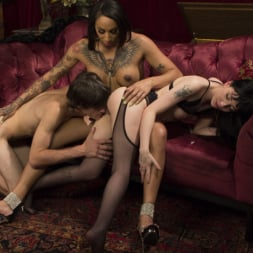 Charlotte Sartre in 'Kink TS' Honey Foxxx Corrupts Young Innocent Couple (Thumbnail 3)