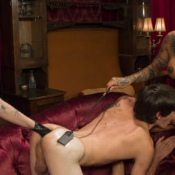Charlotte Sartre in 'Kink TS' Honey Foxxx Corrupts Young Innocent Couple (Thumbnail 13)