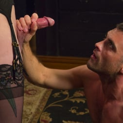 Chelsea Marie in 'Kink TS' Makes Lance Hart Work For The Cock (Thumbnail 9)