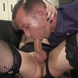 Chelsea Marie in 'Kink TS' Hot, Slutty TS Lady Barges into Sex Shop to Fuck and Suck the Staff! (Thumbnail 1)