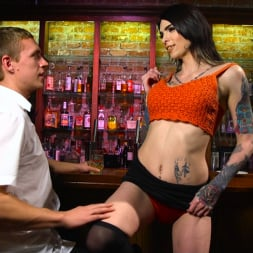 Chelsea Marie in 'Kink TS' Hot Tattooed Bartender Ts Chelsea Marie Serves It Hard To Horny Patron (Thumbnail 1)