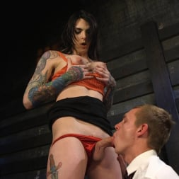 Chelsea Marie in 'Kink TS' Hot Tattooed Bartender Ts Chelsea Marie Serves It Hard To Horny Patron (Thumbnail 4)