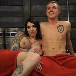 Chelsea Marie in 'Kink TS' Hot Tattooed Bartender Ts Chelsea Marie Serves It Hard To Horny Patron (Thumbnail 22)