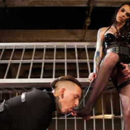 Chelsea Marie in 'Kink TS' Yes, Mistress: Devoted slave worships hot dominatrix cock! (Thumbnail 15)