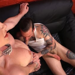 Delia DeLions in 'Kink TS' Delia releases a kept man from chastity then locks him down with her cock! (Thumbnail 4)