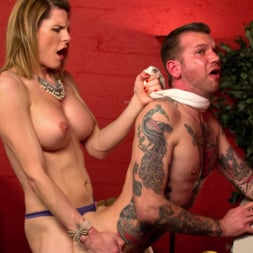Delia DeLions in 'Kink TS' Delia releases a kept man from chastity then locks him down with her cock! (Thumbnail 7)