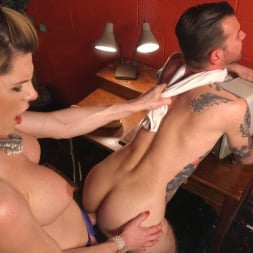 Delia DeLions in 'Kink TS' Delia releases a kept man from chastity then locks him down with her cock! (Thumbnail 10)