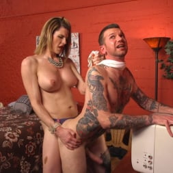 Delia DeLions in 'Kink TS' Delia releases a kept man from chastity then locks him down with her cock! (Thumbnail 11)