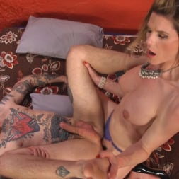 Delia DeLions in 'Kink TS' Delia releases a kept man from chastity then locks him down with her cock! (Thumbnail 13)