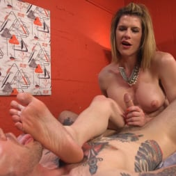 Delia DeLions in 'Kink TS' Delia releases a kept man from chastity then locks him down with her cock! (Thumbnail 16)