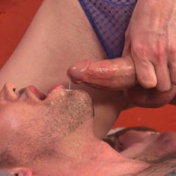 Delia DeLions in 'Kink TS' Delia releases a kept man from chastity then locks him down with her cock! (Thumbnail 18)