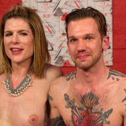 Delia DeLions in 'Kink TS' Delia releases a kept man from chastity then locks him down with her cock! (Thumbnail 19)