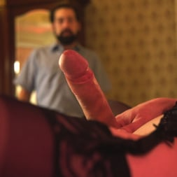 DJ in 'Kink TS' Jesse gives a hotel worker the Best Day Ever! (Thumbnail 4)