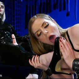 Ella Hollywood in 'Kink TS' Greedy Latex Slut: Ella Hollywood Fucks Dresden's Pussy and Ass (Thumbnail 4)