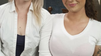 Ella Nova in 'Brand New Dom, Riley Quinn in a messy scene with Ella Nova'