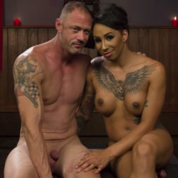Honey FoXXX in 'Kink TS' First Time Cream Pie (Thumbnail 2)