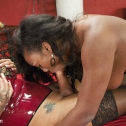 Honey FoXXX in 'Kink TS' Lisa Tiffian submits to TS Honey Foxxx and her big Ebony Cock (Thumbnail 10)