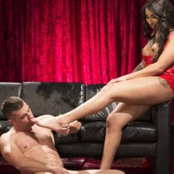 Honey FoXXX in 'Kink TS' Sensual Sex in the Champagne Room with Honey Foxxx and Lance Hart (Thumbnail 20)