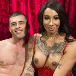 Honey FoXXX in 'Kink TS' Sensual Sex in the Champagne Room with Honey Foxxx and Lance Hart (Thumbnail 23)