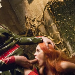 Isabella Sorrenti in 'Kink TS' Pervert espionage Red head spy can't resist She-cock (Thumbnail 3)