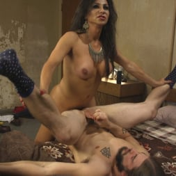 Jaquelin Braxton in 'Kink TS' Jaquline Braxton Catches Pervy Peeping Tom and Seduces him with her Hard Cock and Luscious Ass. (Thumbnail 6)