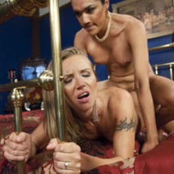 Jessica Fox in 'Kink TS' Cream Pie for the Spy - Jessica Fox cums in her nemesis pussy! (Thumbnail 5)