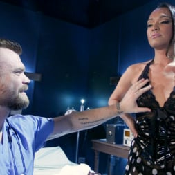 Jessica Fox in 'Kink TS' The Perfect Creation: Jessica Fox Dominates Her Mad Scientist Creator (Thumbnail 2)