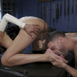 Jessica Fox in 'Kink TS' The Surrender: Jessica Fox submits to Ricky Larkin (Thumbnail 10)
