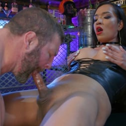 Jessica Fox in 'Kink TS' You're 86'd: Jessica Fox Fucks Muscled Troublemaker Colby Jansen (Thumbnail 13)
