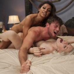 Jessy Dubai in 'Kink TS' Feature Shoot: Beach Blanket Threesome starring TS Jessy Dubai! (Thumbnail 8)